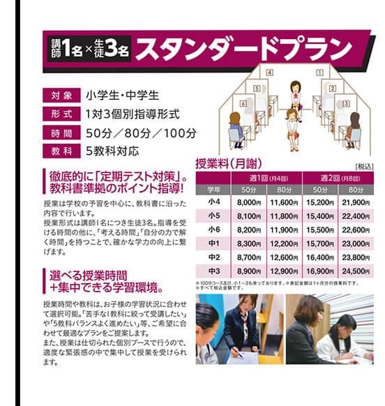 ITTO個別指導学院+「7つの習慣J®」だからできる安心価格